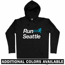 Run Seattle V2 Hoodie - WA Washington Running Runner Fitness Athlete - Men S-3XL