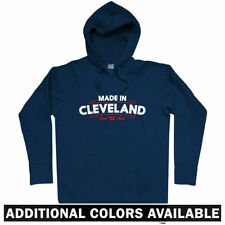 Made in Cleveland V2 Hoodie - OH Ohio Browns Indians Cavs Cavaliers  - Men S-3XL