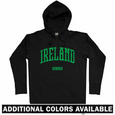 Ireland Hoodie - Eire Dublin Galway Cork Belfast Irish Football Rugby  Men S-3XL