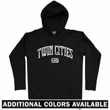 Twin Cities Hoodie - Minneapolis St Paul Minnesota Saint MSP MN 612 - Men S-3XL