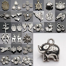 Lots Top Tibetan Silver Charms Beads Findings Jewellery Making Mix Crafts DIY