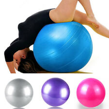 55cm 65cm 75cm Exercise Workout Fitness Gym Yoga Anti Burst Swiss Core Ball LS