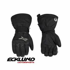 NEW 2017 SKI-DOO MENS X-TEAM NYLON GLOVES BLACK  - 446220__90