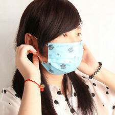 Cute 10X Disposable Safe Dental Medical Surgical Dust Ear Loop Face Mouth Masks