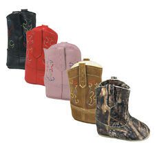 Smoky Mountain Baby Doe Prewalkers Boots - Assorted Solid Colors