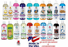 TOP PERFORMANCE Pro Quality Pet Dog Cat Grooming SHAMPOOS&CONDITIONERS*USA MADE