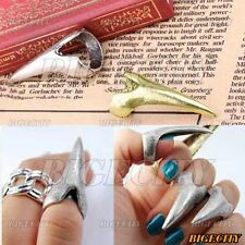 New Fashion Cool Punk Party Rock Vintage Eagle Claw Spike Nail Ring For Women