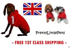 NEW Sporty Fashion Dog Hoodies Hoody Jumper Clothes For Small Dogs And Puppies