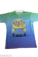 Brand New Official Despicable Me Minions Minion Mens Peace TIE DYE T - Shirt