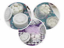 Round Die Cut BOXES FAVOR HOLDERS Cute Wedding Party Gifts WHOLESALE DISCOUNTED