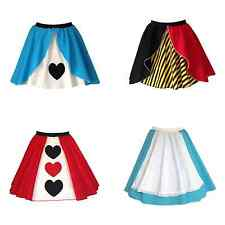 QUEEN OF HEARTS / ALICE IN WONDERLAND  Fancy Dress Skirt outfit Costume UK MADE