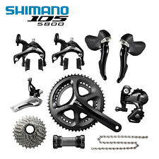 New Shimano 105 5800 Road Bike Groupset Black 50/34T 53/39T 170mm 172.5mm