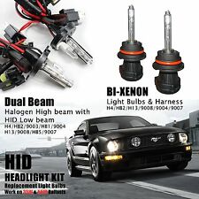 Two 35W 55W Dual Beam High & Low Xenon HID Kit 's Replacement Light Bulbs H4 H13