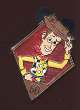 Disneyland 60th Anniversary Diamond Mystery Woody Disney Pin