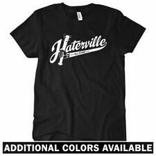 Haterville Women's T-shirt - Chicago Hip-Hop Slang Hater Hate Rap - S to 2XL