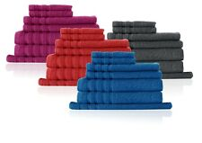 7 Piece 100% Egyptian Cotton Towel Set D'decor Indulgance 575GSM RRP $129.95