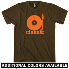 Classic T-shirt - DJ Turntable Hip-Hop House Music EDM Turntablist - Men S-4XL