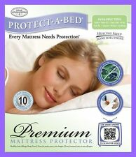 PROTECT YOUR TEMPUR-PEDIC MEMORY FOAM ~ GEL MATTRESS WATERPROOF PROTECTOR