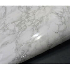 White Granite Look Marble Effect Counter Top Film Self Adhesive * 0.5m