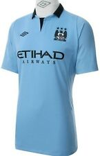 *NEW 100% Authentic Umbro Manchester City Jersey - 2012 2013 Man Mens XL 46 EPL