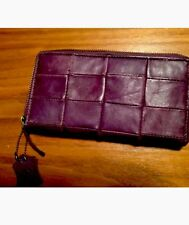 LADIES LARGE QUALITY GENUINE LEATHER PURSE COIN CARD WALLET  Made In India