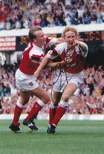 HAND SIGNED 12x8 PHOTO - ARSENAL 1992 RAY PARLOUR