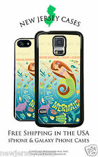 Disney Vintage Ariel Little Mermaid Poster iPhone & Galaxy Phone Case Cover