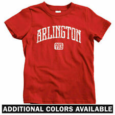 Arlington 703 Virginia Kids T-shirt - Baby Toddler Youth - Washington DC Fairfax