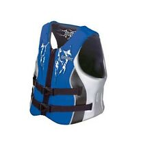 STEARNS LIFE JACKET SKI VEST 5439 SPLINTER BLUE ADULT Large Type 3 Water Sports