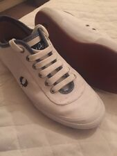Women's Fred Perry Plimsolls Shoes Brand New Size 8
