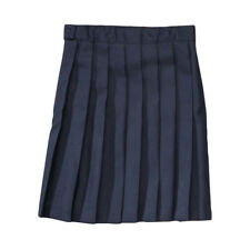 GIRLS NAVY PLEATED SKIRT FRENCH TOAST SCHOOL UNIFORM SIZES 4-20
