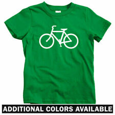 Bike Route Kids T-shirt - Baby Toddler Youth Tee - Cycling Bicycle Fixie Biking