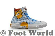 Kids Converse Chuck Taylor Simpsons CT Ox - 641391C - White Multi Trainers