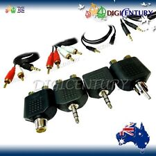 Sorts of Audio Adapter & Extension Cable Lead Cord 3.5mm6.35mmRCA |MaleFemale