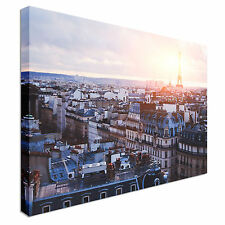 Paris City Streets Canvas wall Art prints high quality great value
