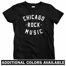 Chicago Rock Music Kids T-shirt - Baby Toddler Youth Tee - Punk Wilco Gift Fan