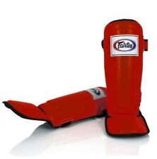 Fairtex Pro Style Shin In Steps / Guards Yellow -SP3 - Kickboxing MMA Muay Thai