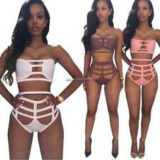Women Swimsuit Swimwear Beachwear Sexy Cut Out Push Up Bikini Bathing Suit NC89