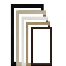 PICTURE PHOTO POSTER STANDARD FRAME Beech Black White Silver Mahogany Gold Pine