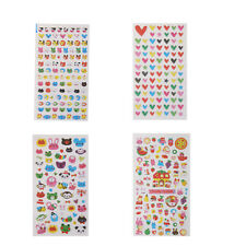 3D Animals Puffy Raised Stickers Scrapbooking kids Diary Decor Decal Mark Sticky