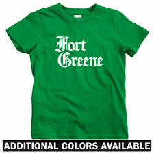 Fort Greene Gothic Brooklyn Kids T-shirt - Baby Toddler Youth Tee - New York NYC