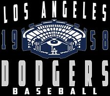 Los Angeles Dodgers With Stadium Men's T-Shirts Sizes