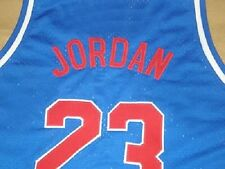 MICHAEL JORDAN HIGH SCHOOL ALL AMERICAN JERSEY BLUE NEW SEWN ANY SIZE