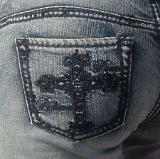 Cowgirl Tuff Ladies Style Victory Crystal Jeans  NDS