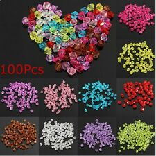 100Pcs 4mm Glass Crystal Bicone Loose Beads DIY Jewelry Accessories