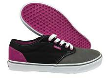 VANS. Atwood. Tri-Tone. Black / Grey / Purple. Suede Canvas Shoe. Mens Size 9.5