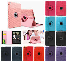 Leather 360 Degree Rotating Smart Stand Case Cover for Apple iPad 2 3 4 Mini Air