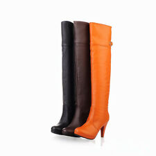 New Women's Fasion Sexy High Heel Boots Over Knee Fashion Shoes  All Size OB427