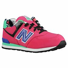New Balance Classics Traditionnels Pink Youths Trainers - KL574TXG