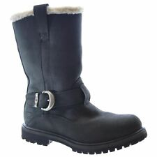 Timberland Nellie Pull On Black Black Womens Boots - 8712A W